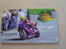 Used Chip Card ISLE OF MAN TT Races Year 2000 - Isola Di Man