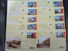 BELGIE BRIEFKAART 134/143  AAN POSTPRIJS - Stamped Stationery
