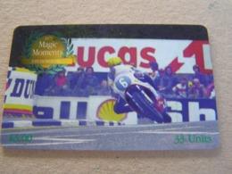 Used Chip Card ISLE OF MAN TT Races Year 1977 - Man (Eiland)