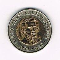 //  ECUADOR  1000 SUCRES  1997 - Equateur