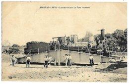 A3 Haute Vienne 87 MAGNAC LAVAL Locomotive En Gare Sur Le Pont Tournant 1910 TBE - Frankrijk