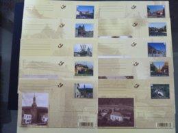BELGIE BRIEFKAART 175/184 AAN POSTPRIJS - Stamped Stationery