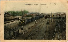 CPA MONTARGIS - La Gare (210221) - Montargis