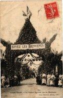 CPA COURTENAY - Le Comice Agricole Rue Martineau (213032) - Courtenay