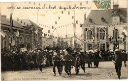 CPA FETE DE CHATILLON-COLIGNY - Concours De Pompes (213041) - Chatillon Coligny