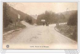LA GILEPPE ..-- 1913 Vers ROTTERDAM . Route De La Gileppe .  Voir Verso . - Gileppe (Barrage)