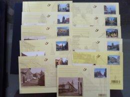 BELGIE BRIEFKAART 185/195 AAN POSTPRIJS - Stamped Stationery