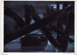 SOULAGES  Peinture 100X73 .   1957.   Collection Particulière. 2 Scans TBE - Pittura & Quadri