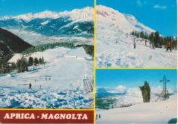 APRICA-MAGNOLTA - VEDUTINE ANIMATE - SEGGIOVIA - CAMPI DA SCI - Italia