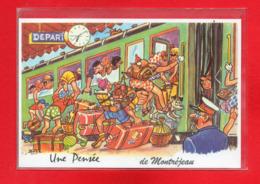 31-CPSM MONTREJEAU - Montréjeau
