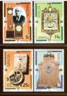 MALTA - 1995 -  OROLOGIO  CLOCK  -  PENDOLA  -  MERIDIANA - Horloges