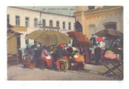 RUSSLAND - Russische Typen, Markt, 1917, Deutsche Feldpost - Russland