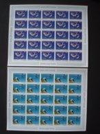MAURITANIA 1986 2 IMPERFORATED FULL SHEETS MNH** / BUZIN BIRDS - Mauritanie (1960-...)
