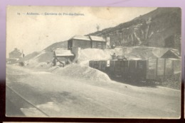 Cpa Andenne  Wagons  Pré Des Dames - Andenne