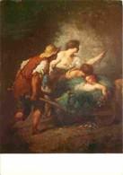 Art - Peinture - Jean François Millet - Retour Des Champs - Voir Scans Recto-Verso - Malerei & Gemälde
