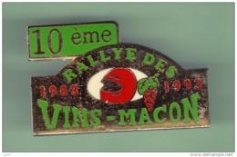 10eme RALLYE DES VINS MACON *** 1063 - Automobile - F1