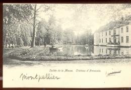 Cpa Annevoie  Barque - Anhée