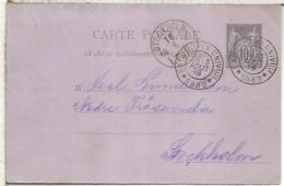 FRANCIA PARIS 1889 MAT EXPOSICION UNIVERAL EXPOSITION UNIVERSELLE - 1889 – Paris (France)
