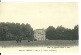 62 - ENV. HESDIN / CHATEAU DU FOUSTEL - Hesdin