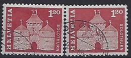 Switzerland 1960  Postal History (o)  Mi.711 X+y - Zwitserland