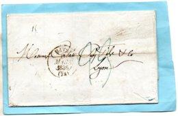 """L.S.C. De NEW YORK Pour LYON-""""ACHEMINE DU HAVRE Par Jules NOLLARD"""",mention Au Dos,le 23/2/36. - Marcophilie (Lettres)"""
