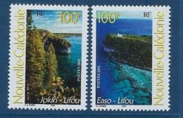 """Nle-Caledonie YT 857 & 858 """" Paysages """" 2001 Neuf** - Nuova Caledonia"""