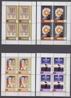 Dominica 29.03.2006 Mi # 3727-30 2006 Torino, 1984 Sarajevo 1998 Nagano Winter Olympics, MNH OG - Winter 2006: Torino