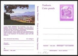 Austria/Autriche: Intero Stationery, Entier, Terme Sulfuree, Sulphurous Spas, Spas Sulfureux - Termalismo