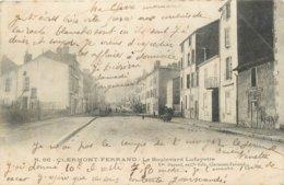 63 - CLERMONT FERRAND - PUY DE DOME - BOULEVARD LAFAYETTE - VOIR SCANS - Clermont Ferrand