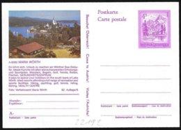 Austria/Autriche: Intero Stationery, Entier, Lago Worth, Lake Worth - Geografia