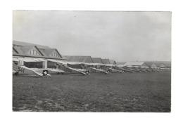 DUBENDORF 1923 INSPECTION DES DH3 SUISSE AVIATION /FREE SHIPPING REGISTERED - Aeródromos