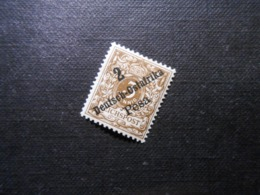 D.R.Mi 6d - 2P Auf 3Pf*MLH - Deutsche Kolonien ( Deutsch-Ostafrika ) 1896 - Mi 3,00 € - Kolonie: Duits Oost-Afrika