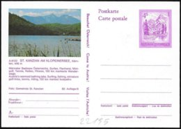 Austria/Autriche: Intero Stationery, Entier, Lago, Lake - Geografia