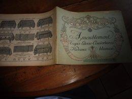 1920 AU BON MARCHÉ ----> Ameublement-Tapis-Literie-Couvertures-Rideaux-Blanc (dessin De Couverture Signé Henry André) - Autres Collections