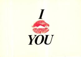 CPM I LOVE YOU - BAISER - Autres