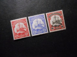 D.R.Mi 32a/ 33b/ 35**MNH - Deutsche Kolonien ( Deutsch-Ostafrika ) 1905/1920 - Mi 28,50 € - Kolonie: Duits Oost-Afrika