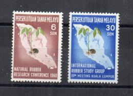 Gran Bretagna - (Vecchie Colonie E Protettorati MALESIA) - 1960 - 2 Valori - Nuovi - * - (FDC17484) - Malayan Postal Union