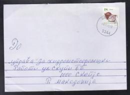 REPUBLIC OF MACEDONIA, POST CANCEL 6344 BELCISTA B (2000-2019) (RC STRUGA 25) / MICHEL 820 - VEGETABLES-ONION ** - Mazedonien
