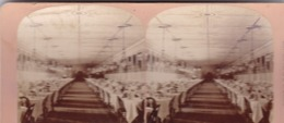1882 / ETATS UNIS /  KILBURN 3116 / SARATOGA / GRAND UNION HOTEL / DINING HALL - Stereoscopic