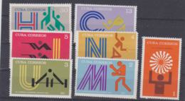 Cuba 1972 München Olympic Games 7 Stamps MNH/** (H50) - Summer 1972: Munich