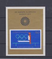 Cuba 1972 München Olympic Games Souvenir Sheet MNH/** (H50) - Summer 1972: Munich
