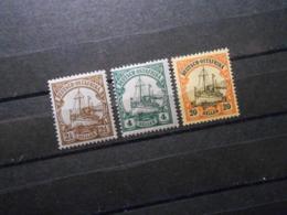 D.R.Mi 30 L**MNH/ 31*MLH/ 34*MLH - Deutsche Kolonien ( Deutsch-Ostafrika ) 1905/1920 - Mi 7,70 € - Colonia: Africa Oriental