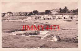 CPA - PREFAILLES - Un Coin De La Plage, Bien Animée - 44 Loire Inf. - N° 10 - Edit. Couronné Préfailles - Préfailles