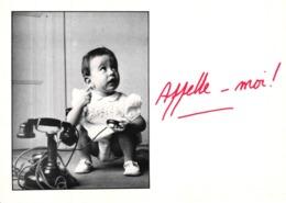 CPM APPELLE MOI ! ENFANT AU TELEPHONE - Cartes Humoristiques