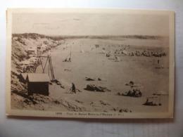 Carte Postale Saint Brevin L'Ocean (44) La Plage ( Petit Format Noir Et Blanc Oblitérée Timbre 30 Centimes ) - Saint-Brevin-l'Océan