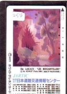 Télécarte Japon * PEINTURE FRANCE * ELIE LASCAUX *  ART (2580)  Japan * Phonecard * KUNST TELEFONKARTE - Pintura
