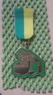 Medaille :Netherlands  - .Drentse Wandelvierdaagse  / Vintage Medal - Walking Association - Nederland