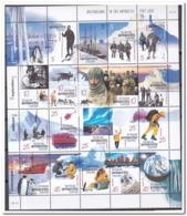 Australisch Antarctica 2001, Postfris MNH, Penguins, Birds, Seal, Ship, Helicopter, Dogs - Australisch Antarctisch Territorium (AAT)
