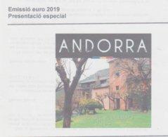 ANDORRA 1 SERIE ESPECIAL EUROS 2019 OFERTA  ANTICIPADA, EN  VENTA SEGUNDA Q. DE NOVIEMBRE. TIRADA 15.000 SERIES.. - Andorra