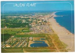 Valras-Plage - Camping - Vue Aérienne - (Hérault) - Beziers